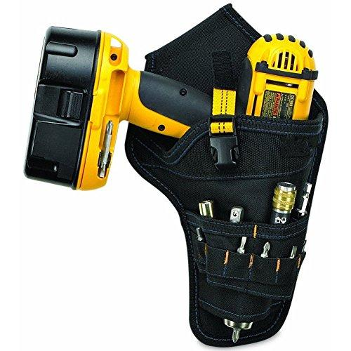 Yellow Holster Tool Belt Pouch Heavy-Duty Cordless Drill