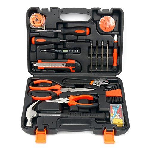 Yaetek 45-Piece Homeowner's Tool Kit,General Household Hand Tool Set (45-PIECE)