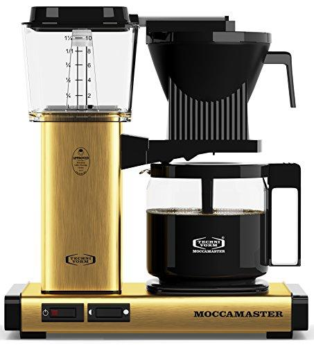 Technivorm Moccamaster 59163 Moccamaster Coffee Maker, Brushed Brass