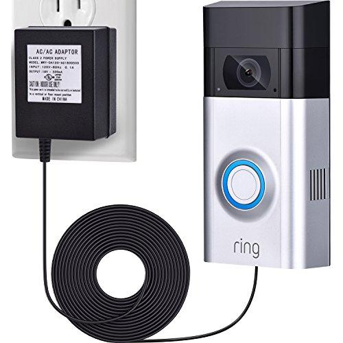 (UL Certified) Power Supply Adapter for Ring Video Doorbell
