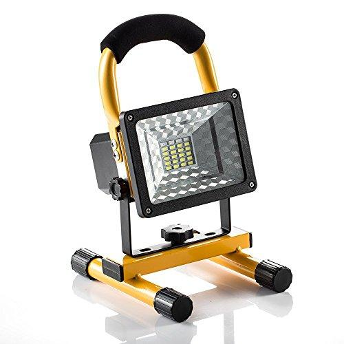 [15W 24LED] Spotlight Rechargeable Work Light, Outdoor Camping Flashing Car Repair With SOS Mode, Handheld Portable Flood Light Built-in Rechargeable Lithium Batteries