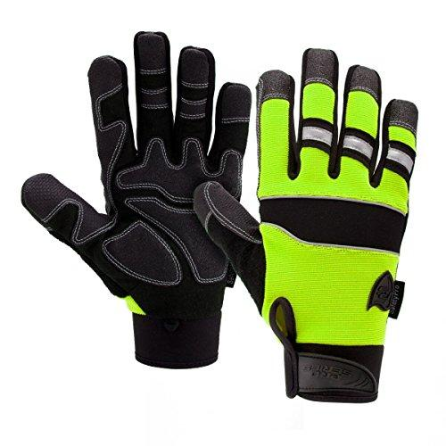 West Chester 86525G Pro Series Safety Gloves, Small, Green