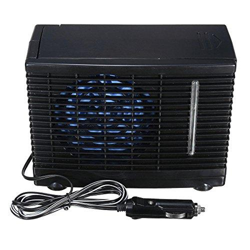 24V Portable Cooling Fan Water Ice Evaporative Air Conditioner