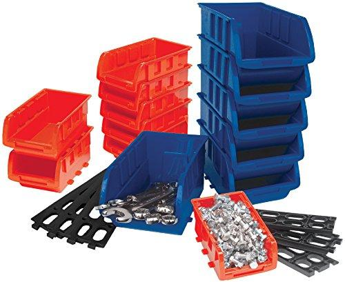 Performance Tool W5195 Storage Bin Set, 15-Piece