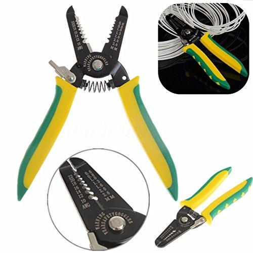 Wire Stripping Tool - Multi-Purpose Stripper Crimper Cutter Plier - Professional Electrical Wire Tool - by Like Store