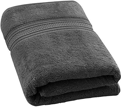 Utopia Towels 700 GSM Premium Cotton Extra Large Bath Towel (35 Inch by 70 Inch) Soft Luxury Bath Sheet, Grey