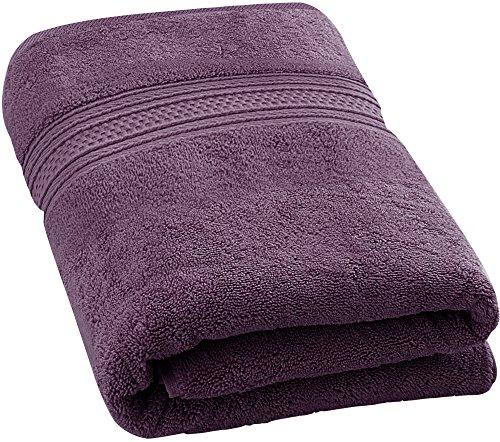 Utopia Towels 700 GSM Premium Cotton Extra Large Bath Towel (35 Inch by 70 Inch) Soft Luxury Bath Sheet, Plum