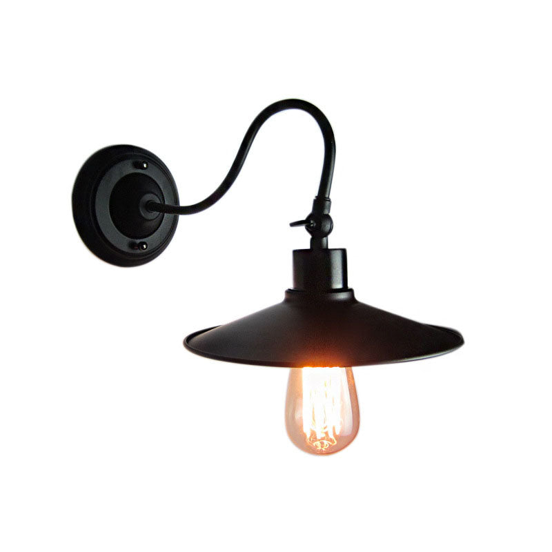 E27 American Vintage Retro Industrial Wind Outdoor Wall Lamp Creative Iron Wall Light for Cafe Restaurant Warehouse Clothes Shop