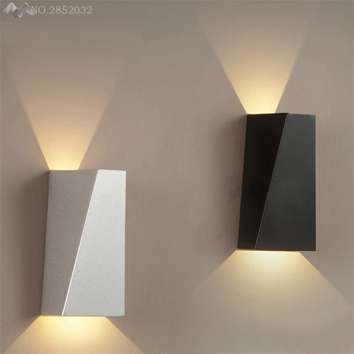 [LFH] LED Wall Lamp Modern Bathroom Bedroom Wall Sconce White Indoor Lighting Lamp AC100-265V LED Wall Light Indoor Lighting