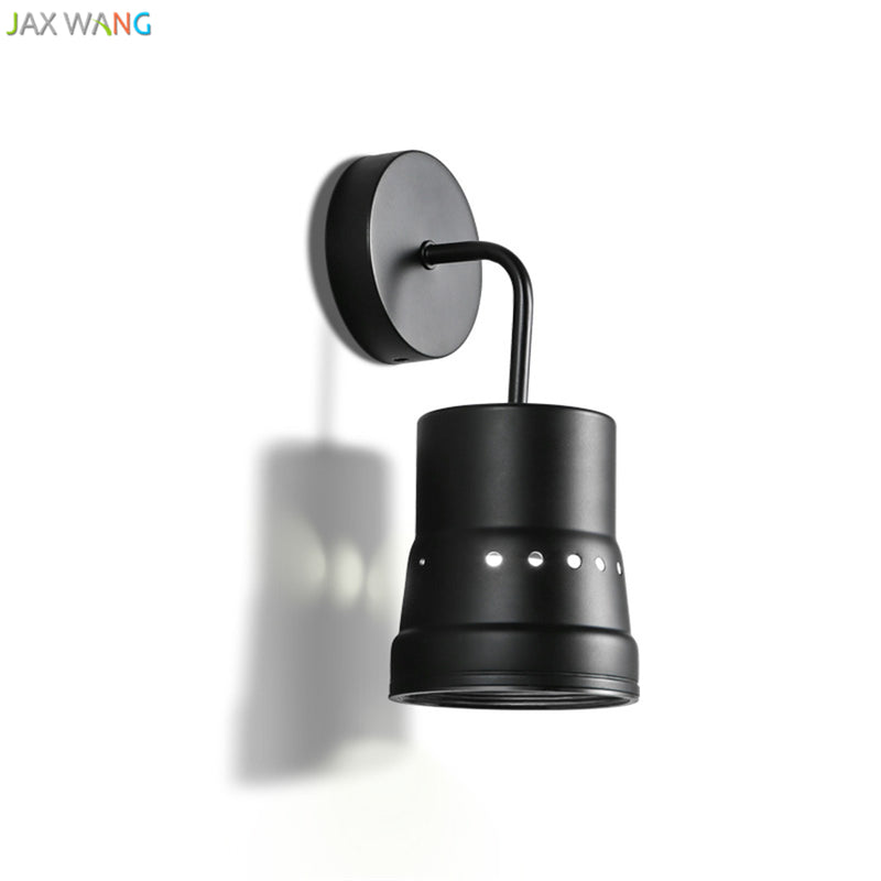 Modern Minimalist Style Wall Lamps Personality LED Living Room Hall Background Wall Nordic Iron Bedroom Bedside Wall Lamp