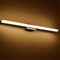 New Simple LED Mirror Light 40cm-120cm Modern Cosmetic Acrylic Wall lamp Bathroom Light Waterproof Free Shipping
