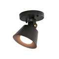 Nordic Ceiling Lamp Northern America Art Decor Black Wrought Iron White lampshade E27 Socket Edison Ceiling Lights Bedroom