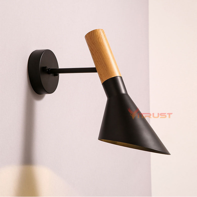 Vintage Bedside wall light retro indoor led wall lighting fixture Vintage E27 Plated Loft Wall Lamp