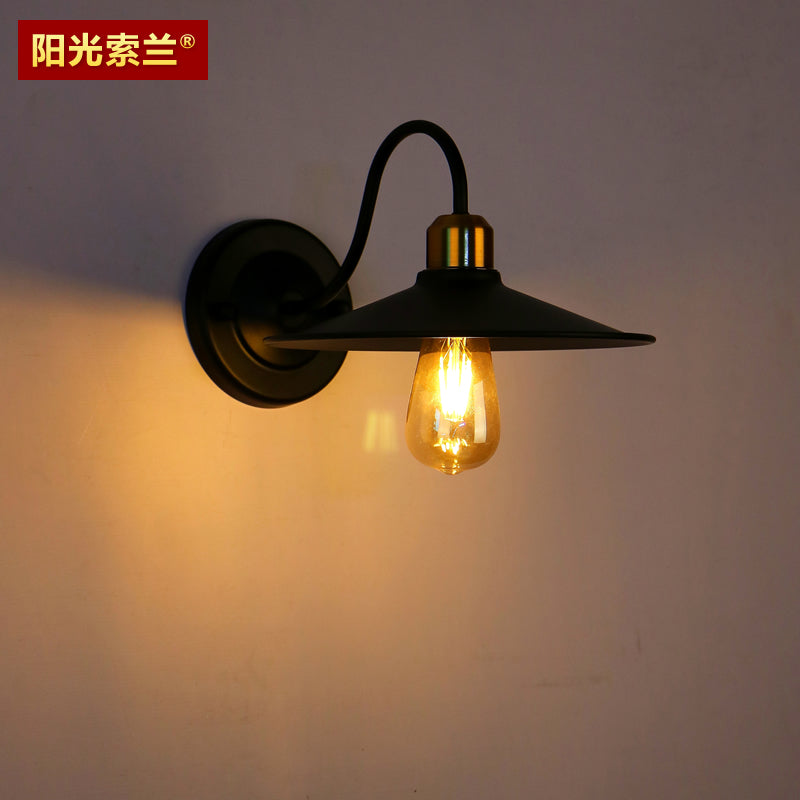 Vintage Wall Light Artistic metal wall lamp living room bathroom Restaurant Coffee shop office bedroom corridor E27 Wall light