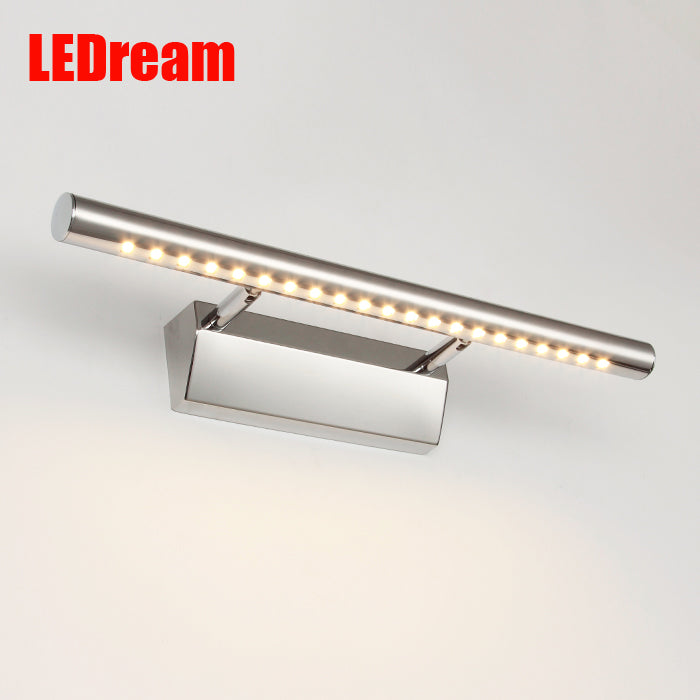 favorable bathroom mirror light 85-265V 5W led antimist lamp bedroom makeup wall lamps