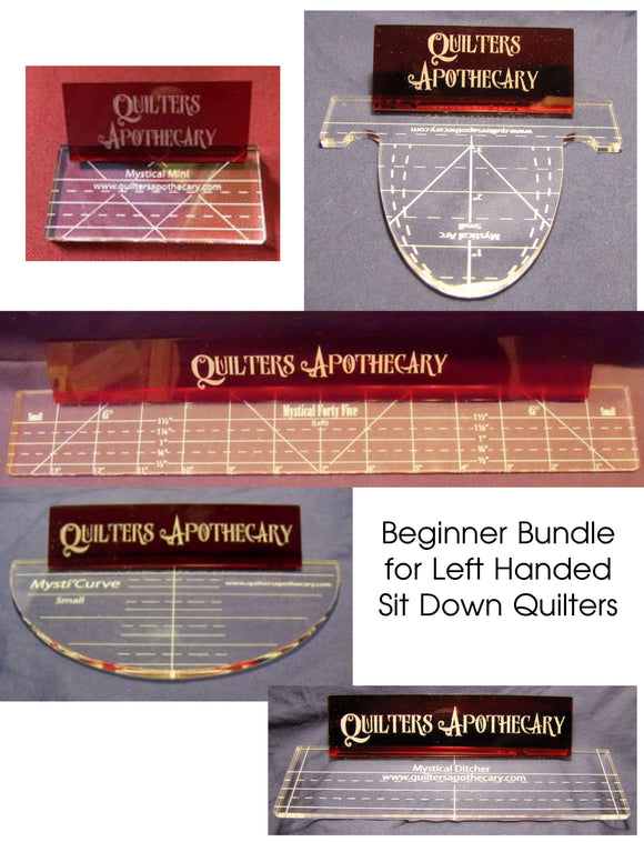 Beginner Bundle for Left Handed Sit Down Quilters