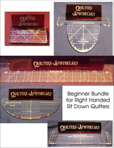 Beginner Bundle For Right Handed Sit Down Quilters Rulers