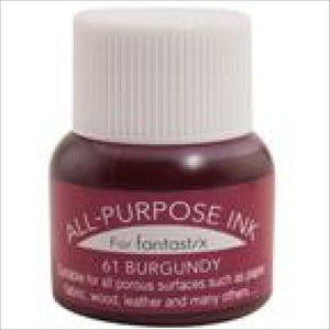 Tsukineko All Purpose Ink Burgandy 061 Thread Art Supplies