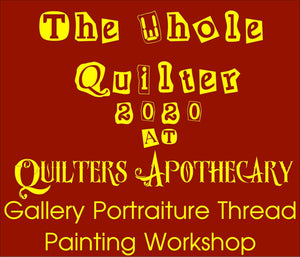 Gallery Portraiture Thread Painting Workshop October 2 & 3 2020
