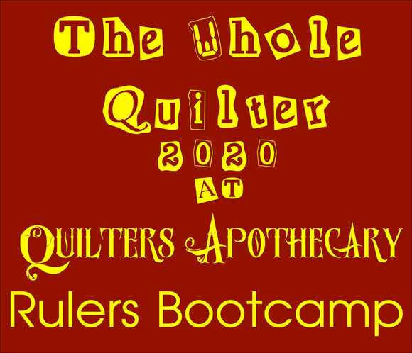 Rulers Bootcamp September 18 19 & 20 2020
