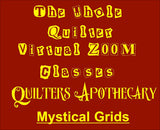 Mystical Grids Virtual Zoom Class May 14, 2021. 10AM CST Class 2115