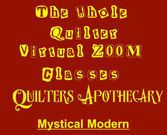 Mystical Modern Virtual Zoom Class December 7, 2020 10AM CST  Class 2009