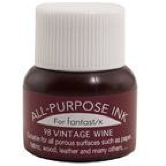 Tsukineko All Purpose Vintage Wine 098 Thread Art Supplies