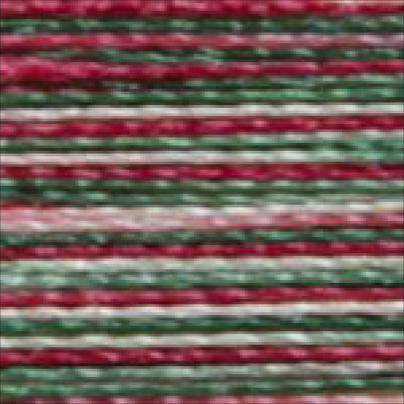 Isacord Variegated 1000M-Holly Berry Wreath Thread