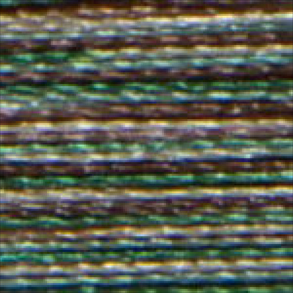 Isacord Variegated 1000M-Pine Forest Thread