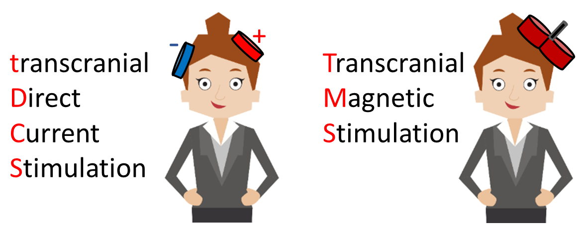 Difference between tDCS and TMS