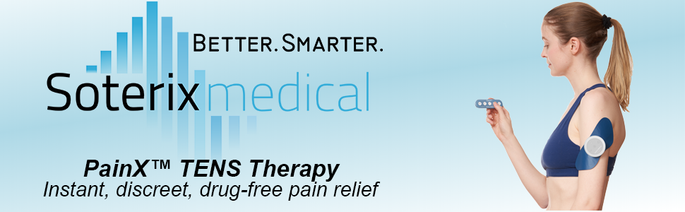 Soterix Medical Wireless PainX Tens Therapy Banner