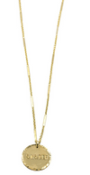 Sister Gold Coin Necklace