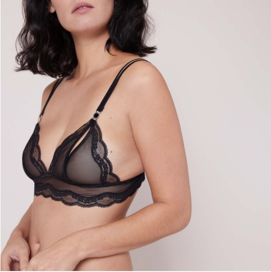 Wild Nights Open Cup Bralette