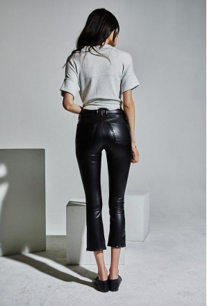 new product on feet shots of most popular The Cropped Gainsbourg Vegan Leather Pants   shopromantiques.com ...