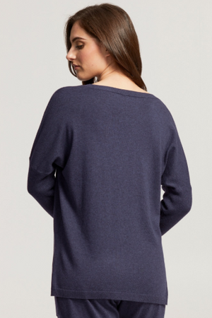 Cashmere Blend Lounge Top