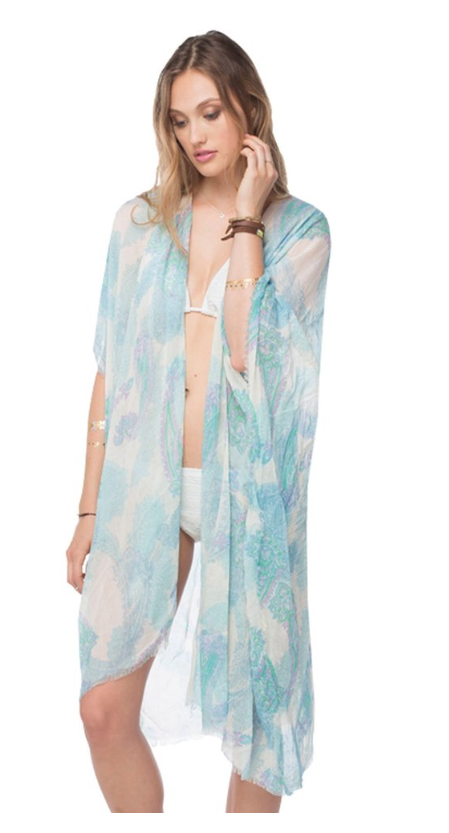 Pool to Party Morning Kimono