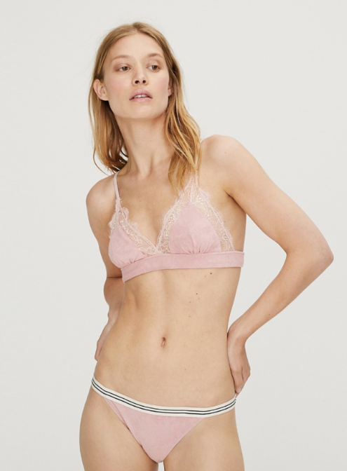 Love Lace Pink bralet