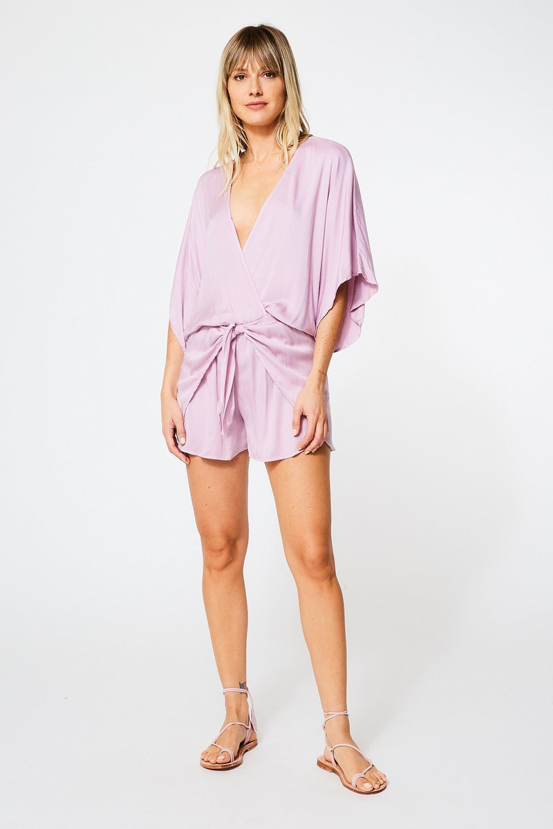 Copy of Edith Romper In Lavender