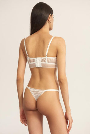 Bella Thong in Ivory