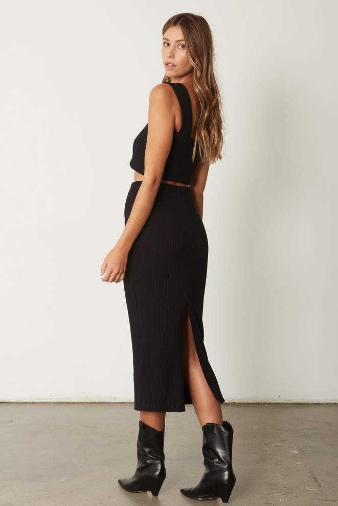 The Classic Heavy Rib Skirt