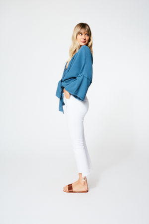 Francesca Wrap Top