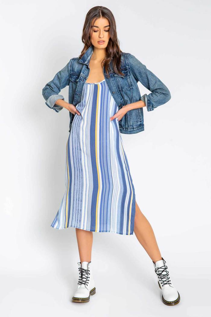PJ Salvage Beach Blues Dress