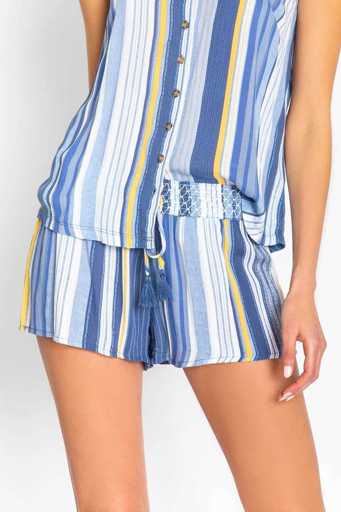 PJ Salvage Beach Blues Short
