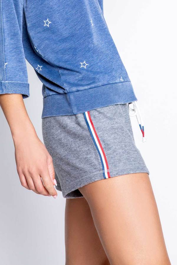 American Heather Great Short With Stripe Waistband