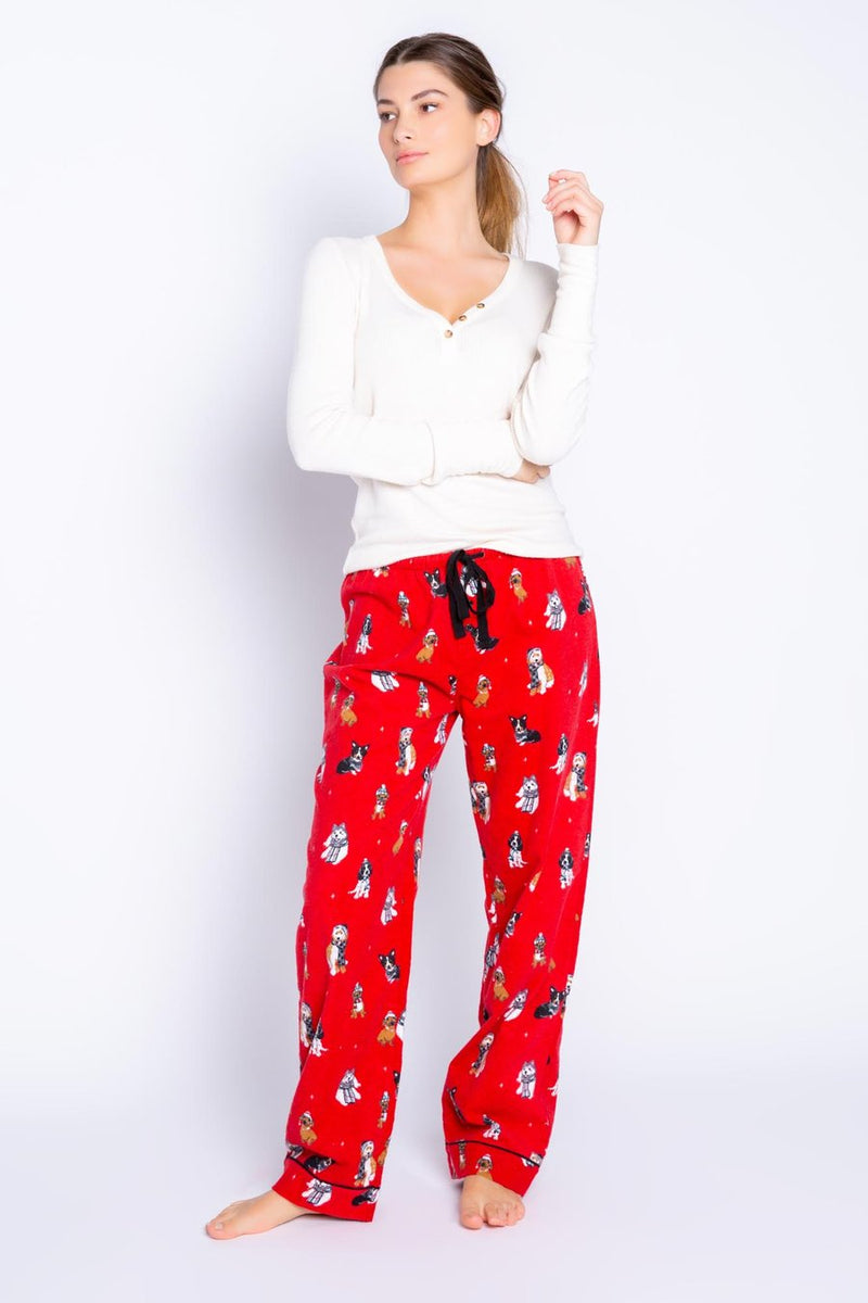 Happy Howlidays Flannel Pants