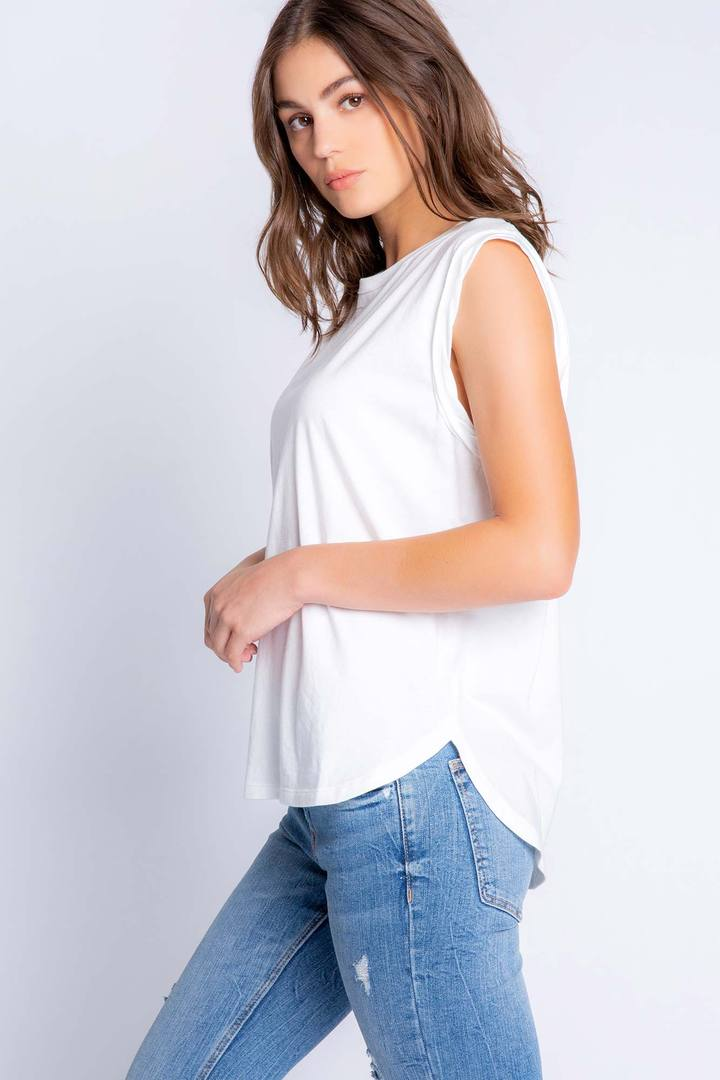 Back to Basics Tank in Ivory