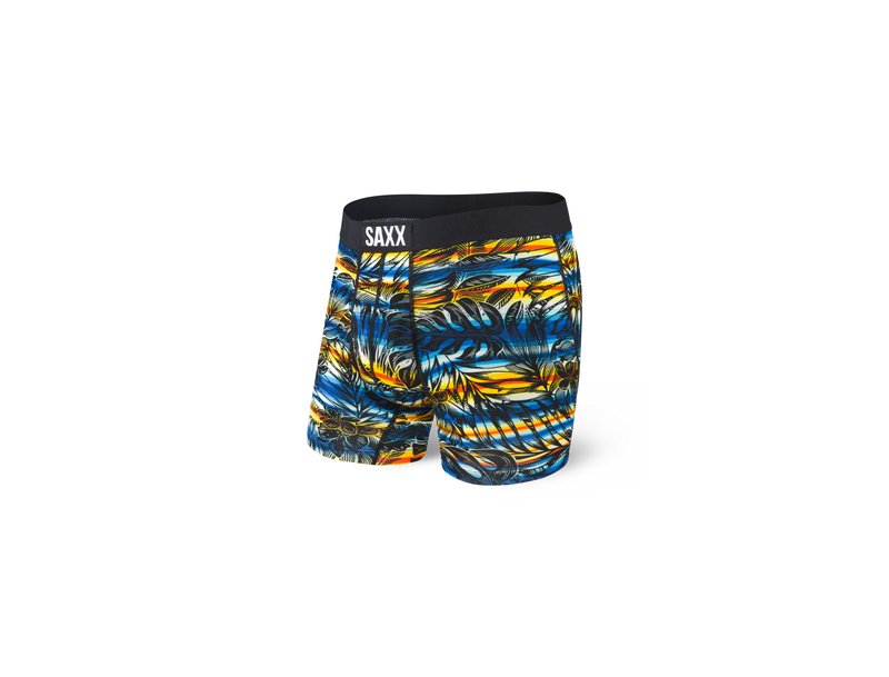 Saxx Ultra Boxer Brief Fly Black Havana Cabana