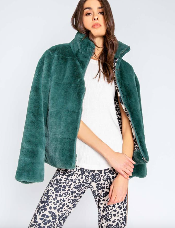 Ciao Plush Faux Fur Coat
