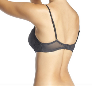 Arpége demi bra in black