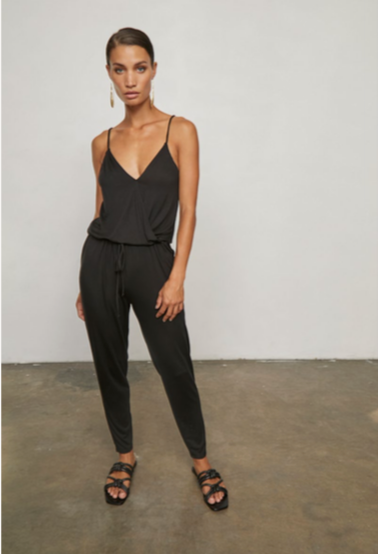 Suplice Cami Jumpsuit In Black
